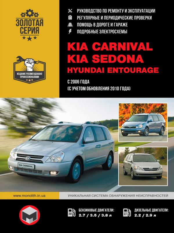 книга по ремонту kia carnival, книга по ремонту киа карнивал, руководство по ремонту kia carnival